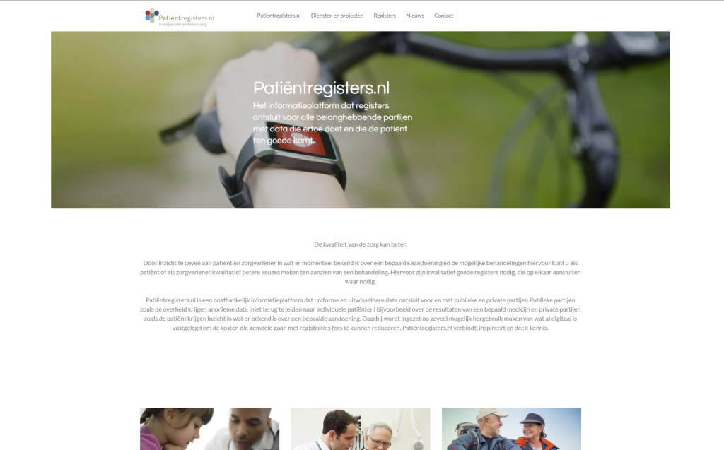 patientregisters website